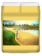 Golf In Club Fontana Austria 02 Duvet Cover