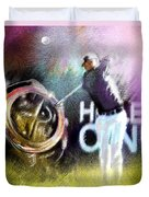 Golf In Crans Sur Sierre Switzerland 03 Duvet Cover