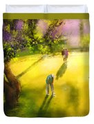 Golf In Spain Castello Masters  01 Duvet Cover
