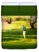 Golf In Spain Castello Masters  02 Duvet Cover