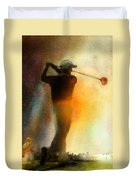Golf In The Portugal Masters 01  Duvet Cover
