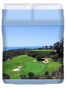 Golf Is Rough At Pelican Hill Resort Duvet Cover