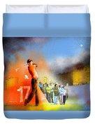 Golf Madrid Masters 01 Duvet Cover