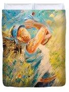 Golf Passion Duvet Cover