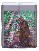 Goliath - The Bigfoot Of Ash Swamp Road Duvet Cover