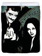 Gomez And Morticia Addams Duvet Cover