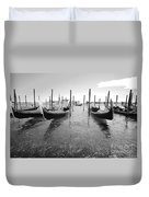 Gondolier In The Distance Duvet Cover