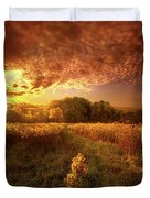 Gone Far Away Into The Silent Land Duvet Cover