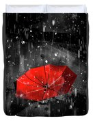 Gone With The Rain Duvet Cover
