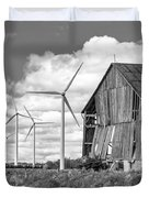Gone With The Wind 3 Bw Duvet Cover
