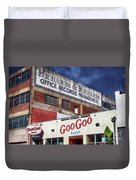 Goo Goo Shop Duvet Cover