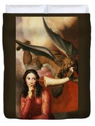 Good And Evil Duvet Cover