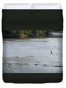 Good Day To Fish Duvet Cover
