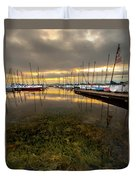 Good Day To Sail Duvet Cover