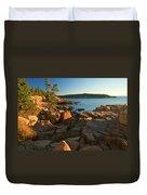 Good Morning Acadia Duvet Cover