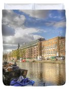 Good Morning Amsterdam Duvet Cover
