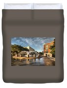 Good Morning Charleston Duvet Cover