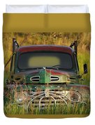 Good Morning Ford Duvet Cover