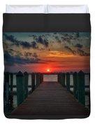 Good Morning Fort Myers Duvet Cover