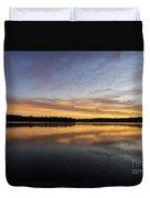 Good Morning Lake Springfield Duvet Cover
