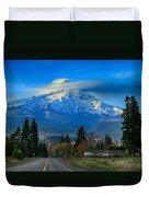 Good Morning Mount Hood Duvet Cover