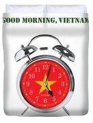 Good Morning, Vietnam - Alternative Movie Poster Duvet Cover