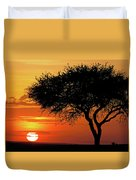 Good Night, Maasai Mara Duvet Cover