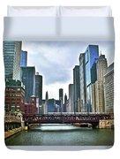 Good Old Chicago Duvet Cover