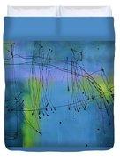 Good Vibrations Three Duvet Cover