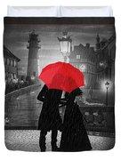 Goodbye My Love Duvet Cover