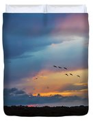 Goodbye To The Day Duvet Cover