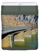 Goodloe E. Byron Memorial Footbridge Duvet Cover