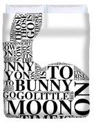 Goodnight My Bunny Duvet Cover