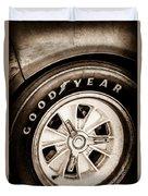 Goodyear Tire -0250s Duvet Cover
