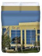 Google Orange County Duvet Cover