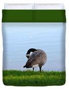 Goose #1 Pose Duvet Cover