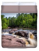 Goose Berry River Rapids Duvet Cover