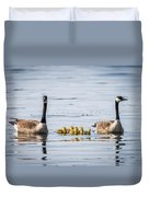 Goose Family Duvet Cover