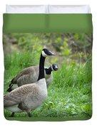 Goose Warning Duvet Cover