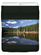 Goose Lake Duvet Cover