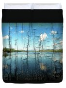 Goose Pond Reflection Duvet Cover