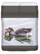 Goose Swimming Duvet Cover