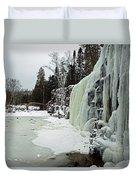Gooseberry Frozen Falls Duvet Cover