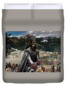 Gordon Setter Art Canvas Print - Philip Iv Hunting Wild Boar  Duvet Cover
