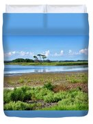 Gordons Pond At Cape Henlopen State Park - Delaware Duvet Cover