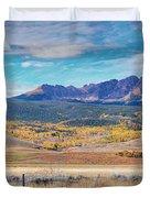 Gore Range Ranch Duvet Cover