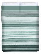 Gorgeous Grays Abstract Interior Decor I Duvet Cover