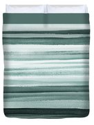 Gorgeous Grays Abstract Interior Decor II Duvet Cover