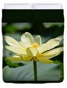 Gorgeous Lotus Flower Duvet Cover
