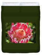 Gorgeous Pink Protea Bloom  Duvet Cover